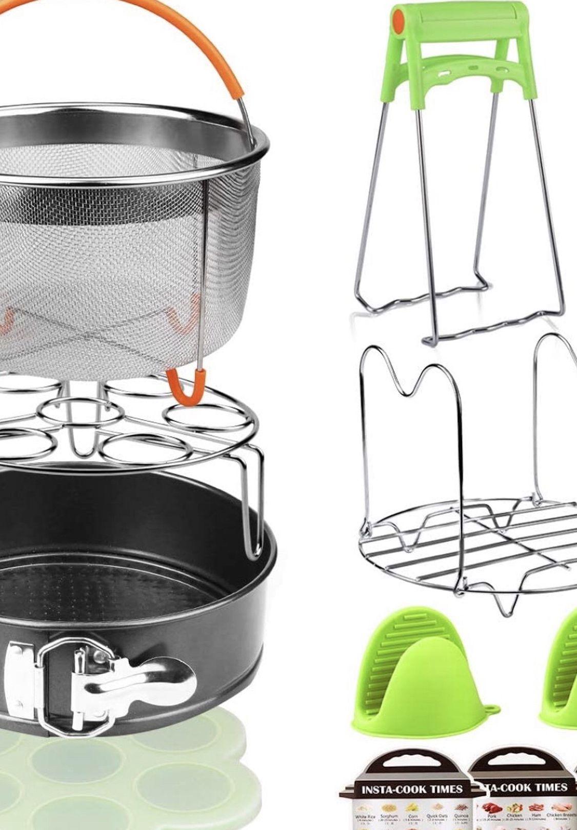 12 Pieces Pressure Cooker Accessories Set,