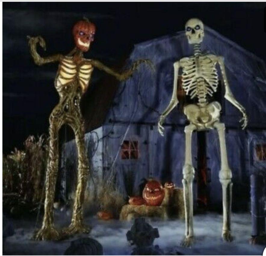 Giant 12ft Skeleton Halloween Decoration