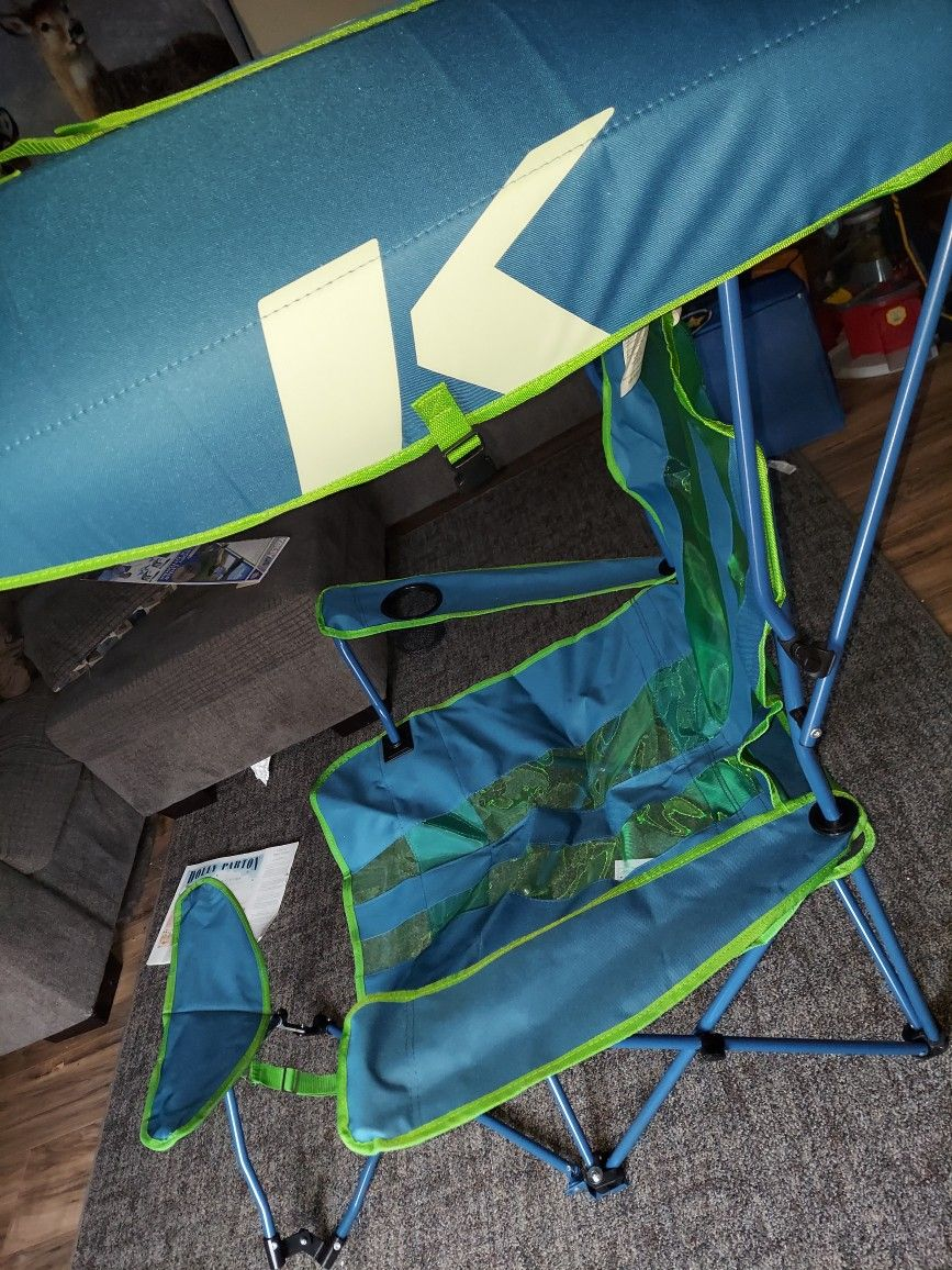 Canopy Chair With Ottoman