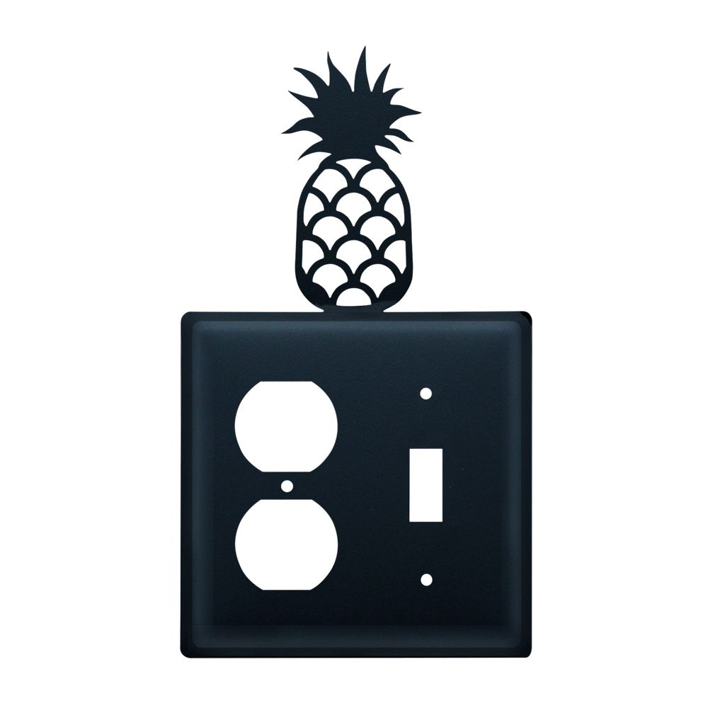Pineapple Single Outlet and Switch Cove