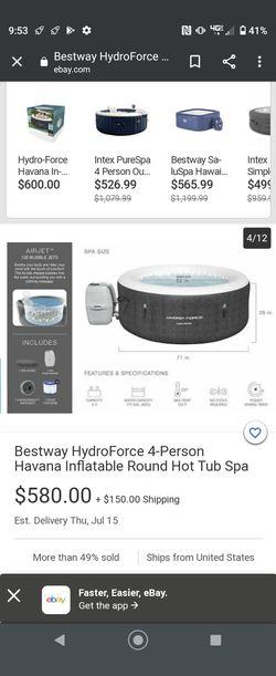 Inflatable Hot Tub Thumbnail