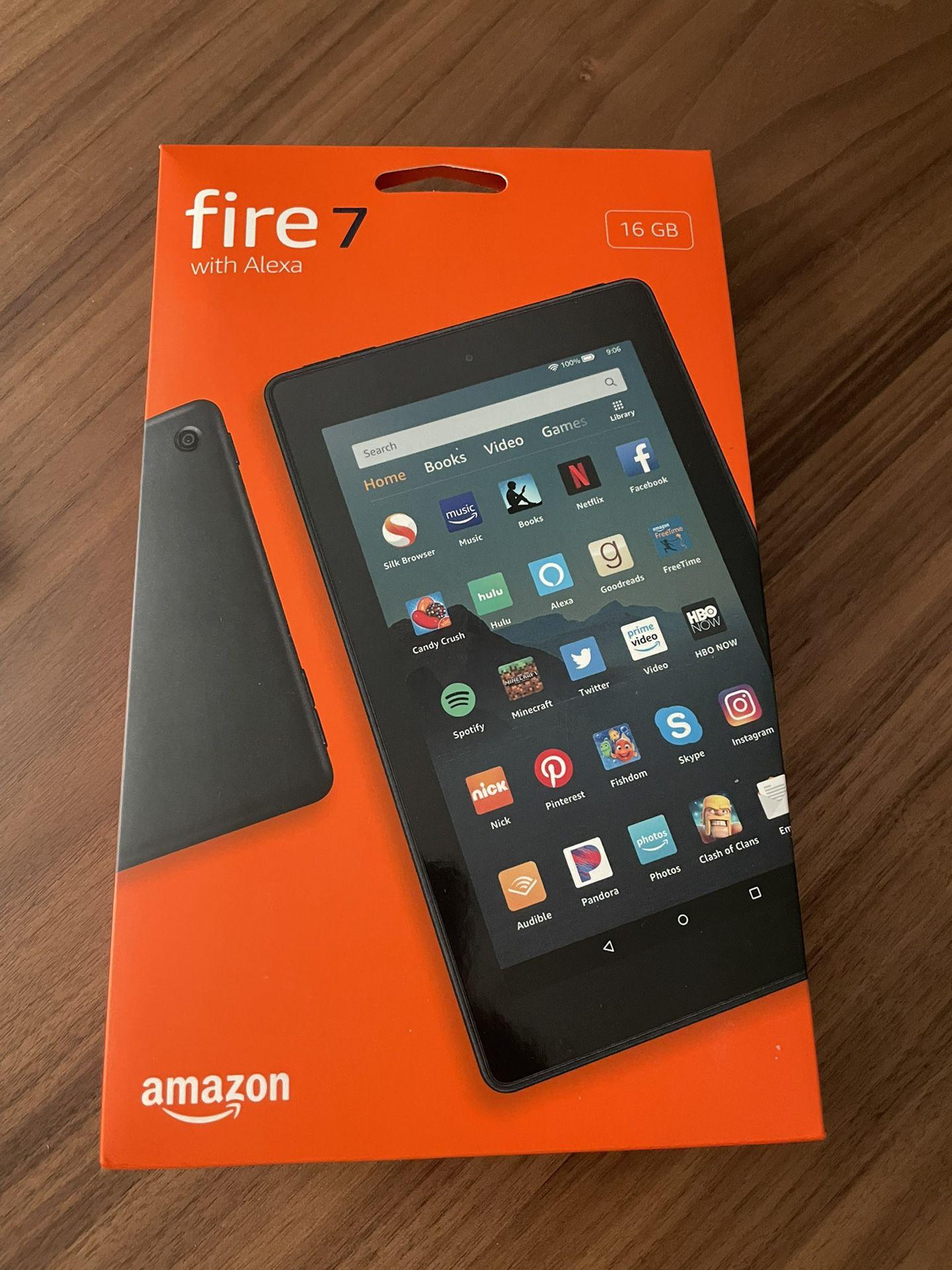 Amazon Fire Tablet, Fire 7