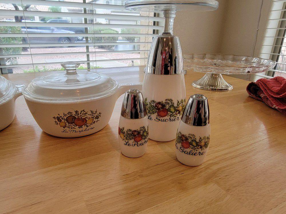 8 Piece Corningware