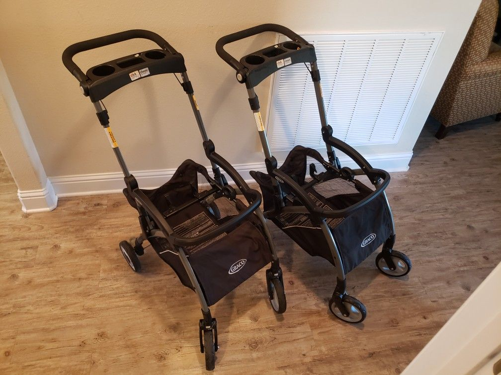 Graco car seat/base/stroller set