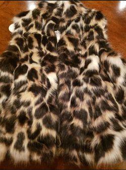 Steve Madden Faux Fur Vest Thumbnail