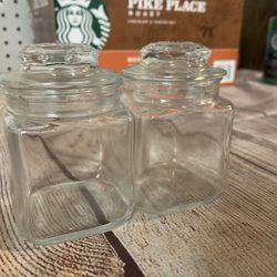 Cute Glass Jars! (20 Jars Total) Thumbnail
