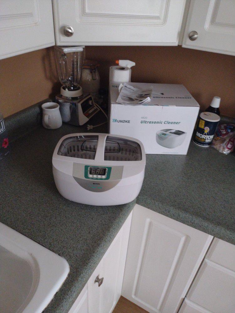 NEW!!! Ukoke 2.5 Liter Ultrasonic Cleaner  $80 at WM $65 Here
