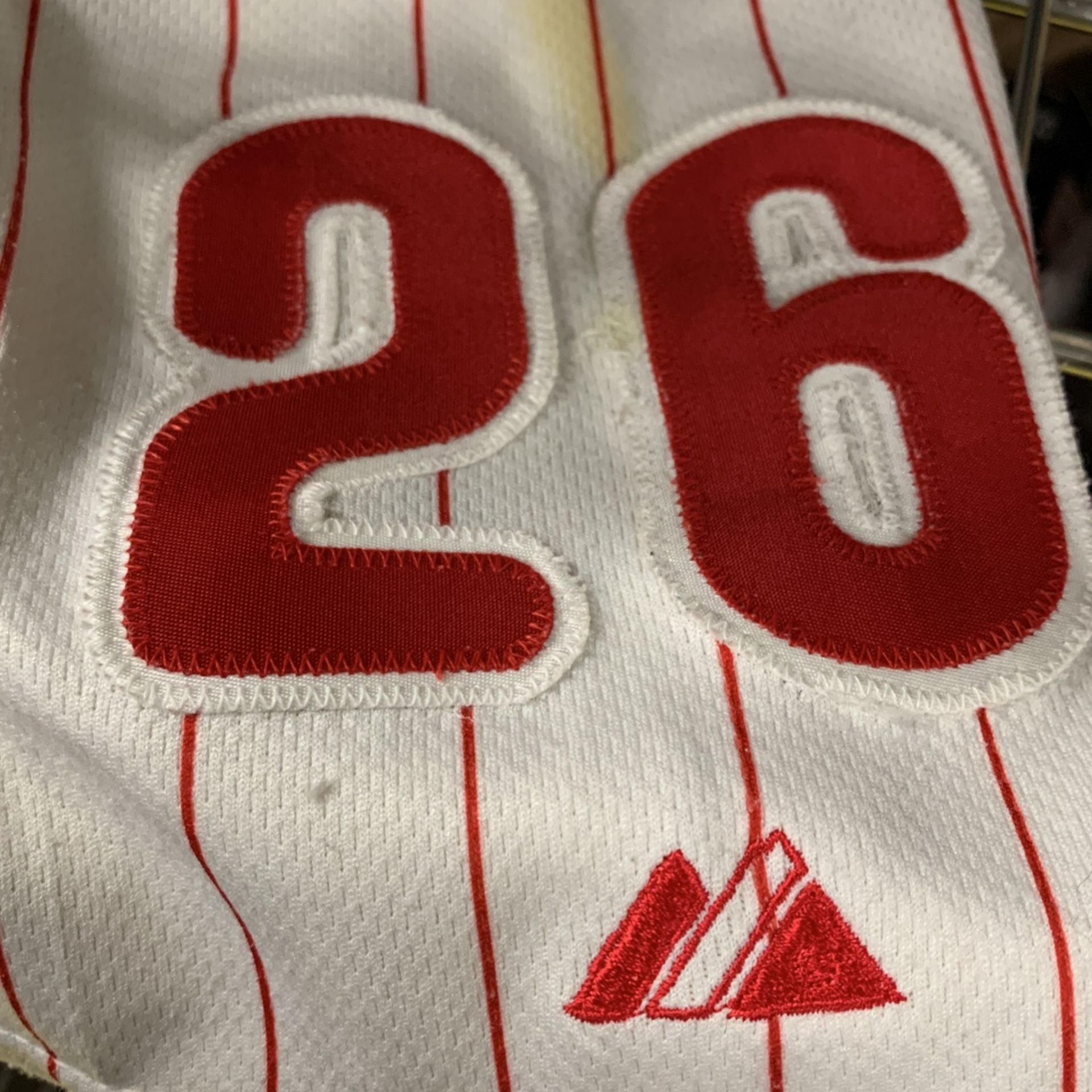 Phillies Chase Utley Jersey