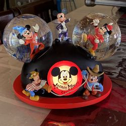 Mickey Mouse March Ears Musical Globe Thumbnail