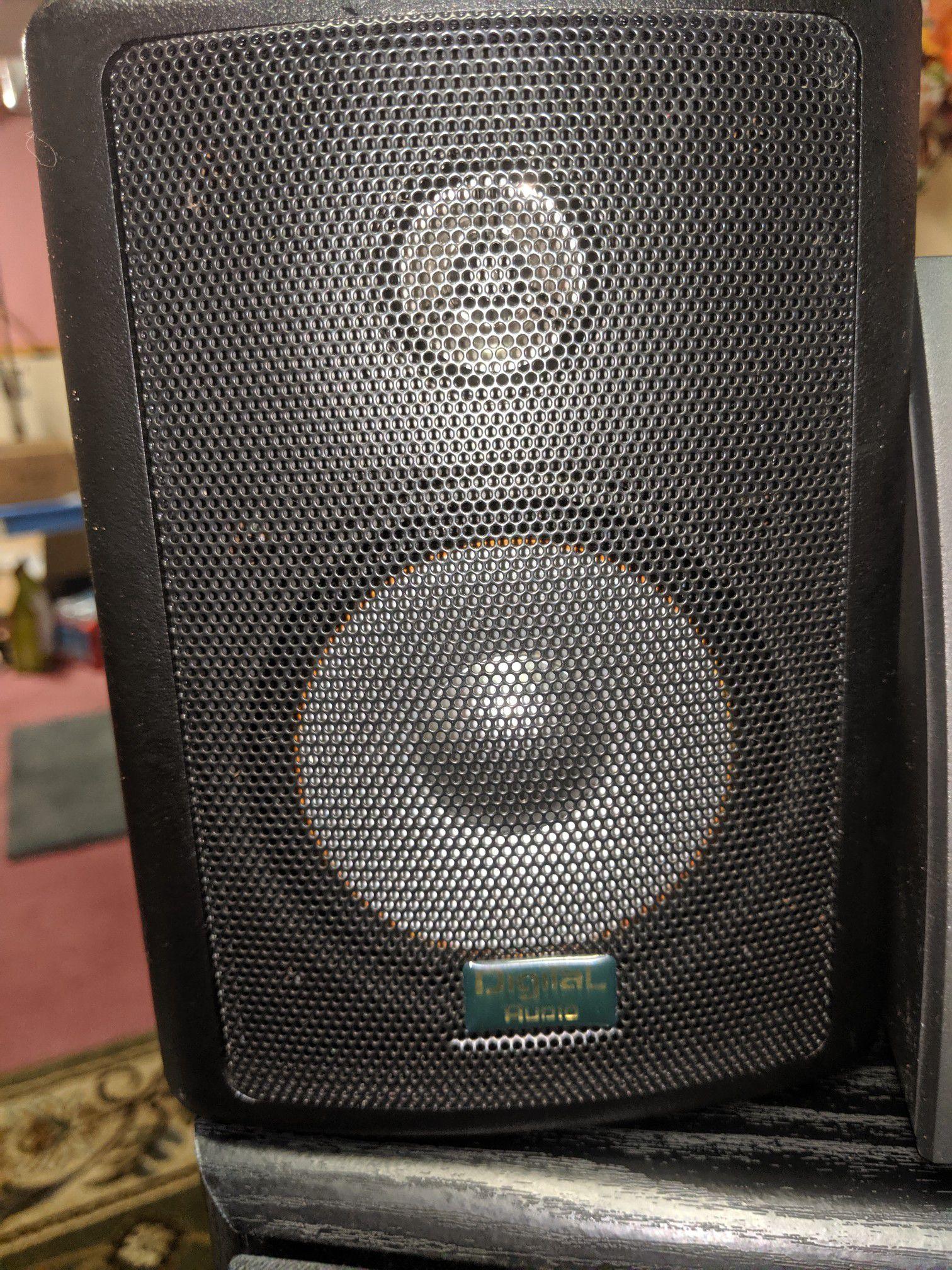 Speaker souround sound Digital pro audio Bose home theater