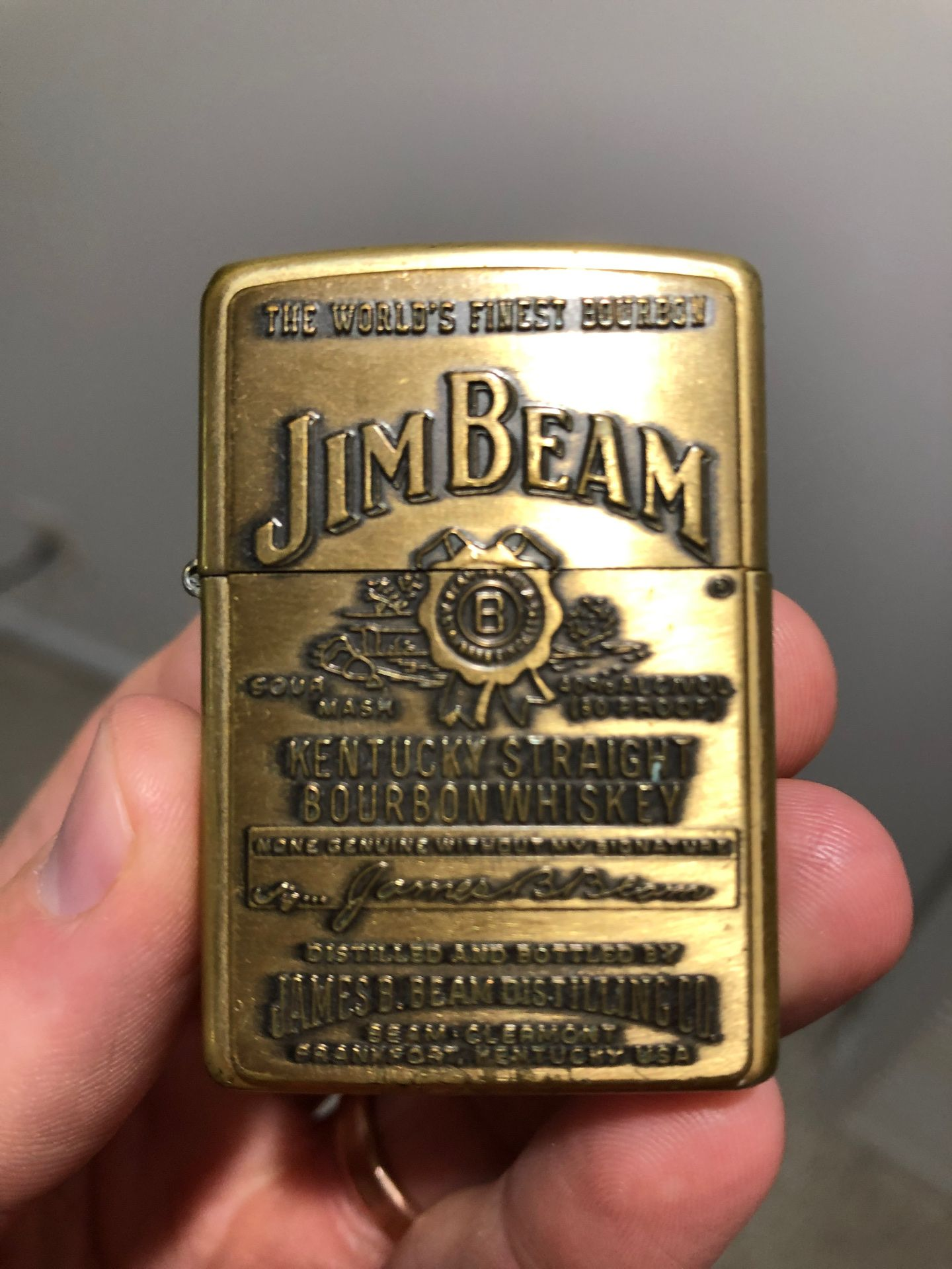 Jim Beam Zippo Lighter - collectable