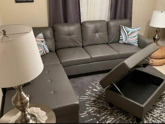 New Sectional And Ottoman  Thumbnail