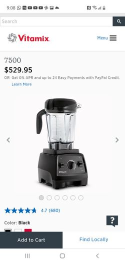 New! Vitamix 7500 Blender, Professional-Grade, 64 oz.  In The Box Seal  Thumbnail
