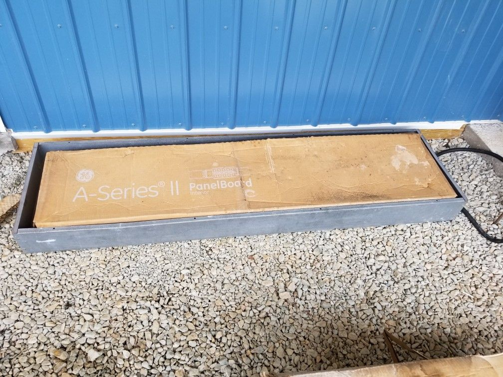 Electrical Panel, 3 Phase, 400 Amp, Garage Shed Barn