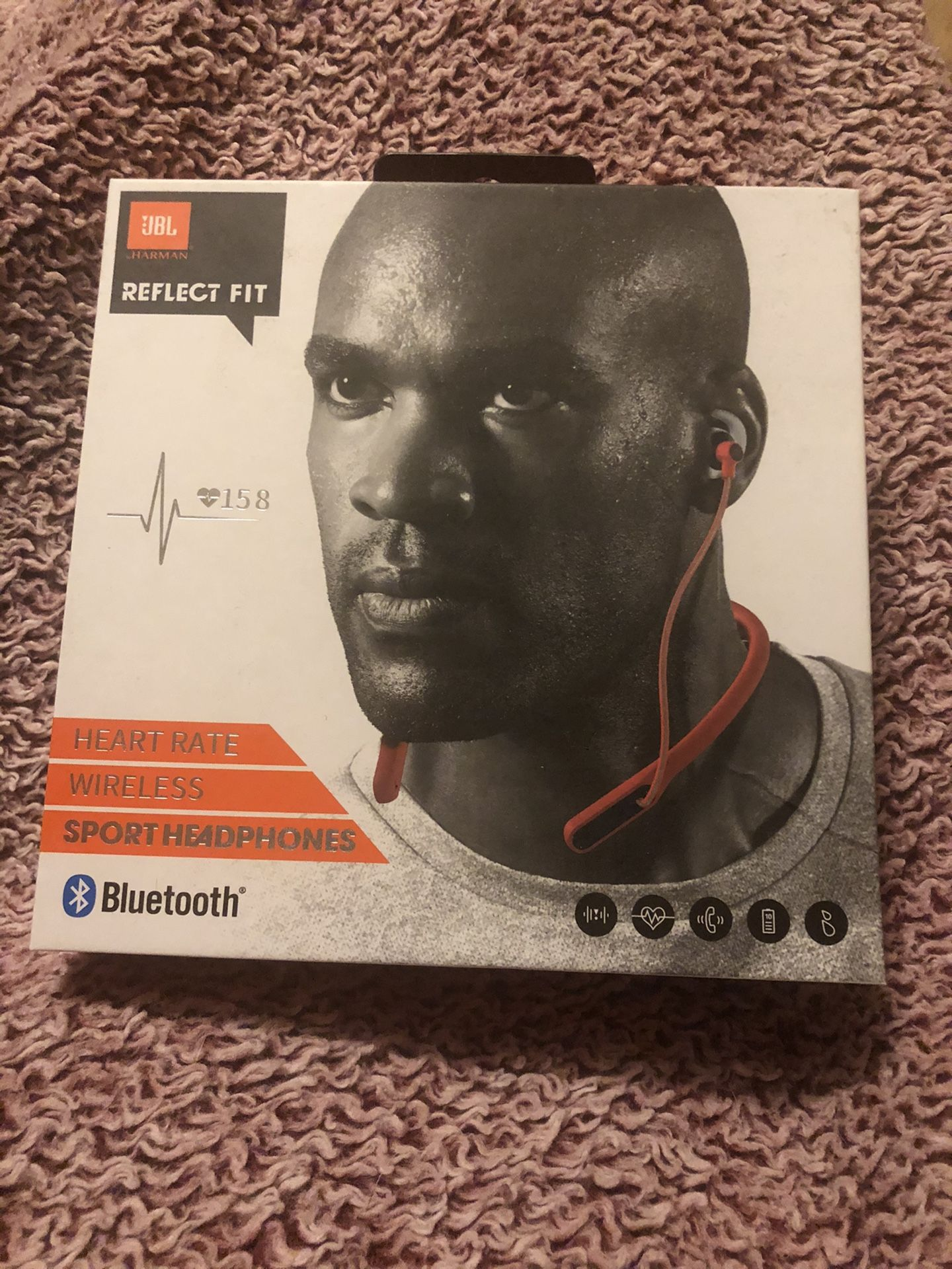 JBL Reflect Fit wireless headphones