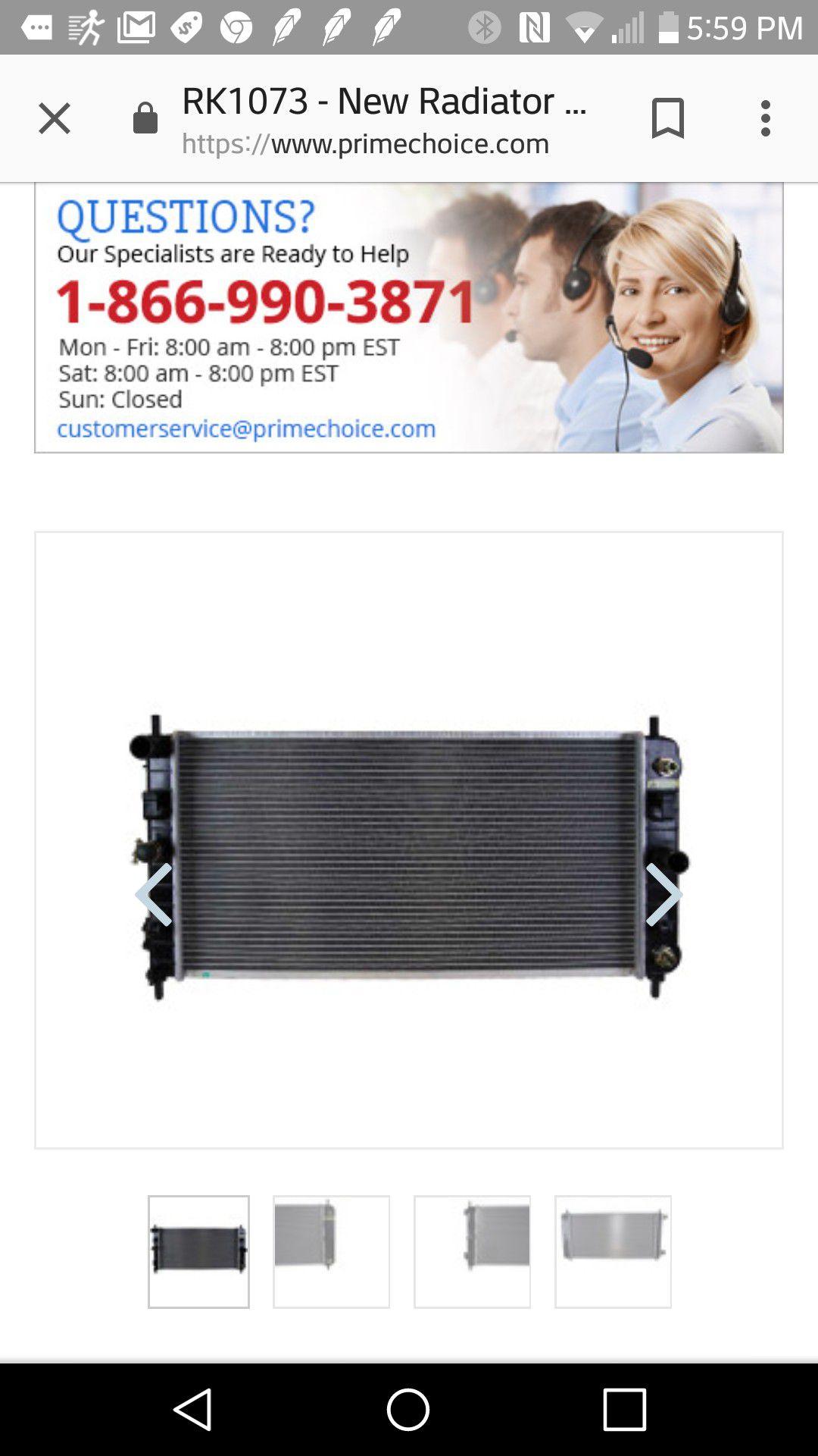 Radiator and AC Condenser