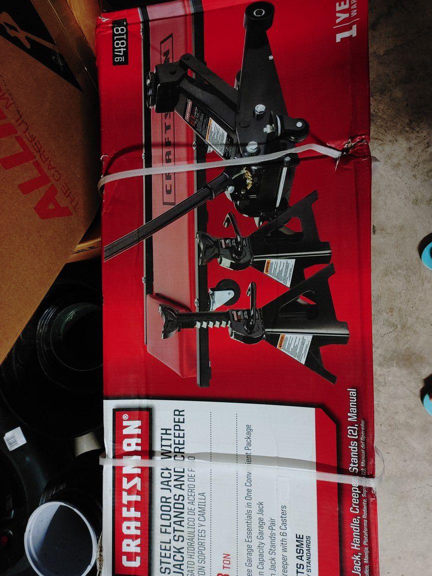 Craftsman Hydraulic Jack Set