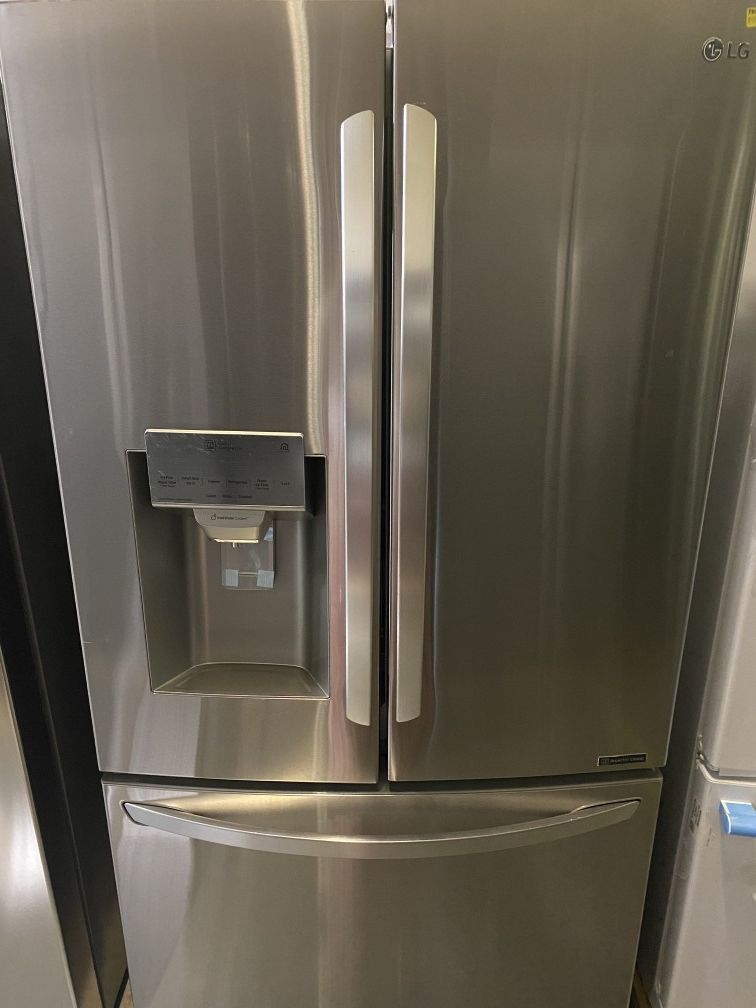 26.2 cu.ft. French Door Smart Refrigerator with Wifi Enabled in Stainless Steel