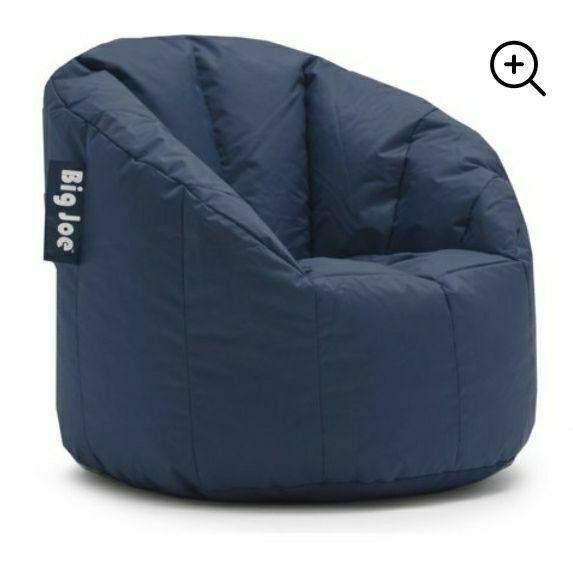 New Navy Big Joe Bean Bag Chair