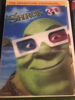 Shrek the Halls, Shrek 3D, Shrek 2 DVDs Thumbnail