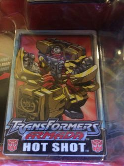 Transformers armada hot shot vehicle to robot robots in disguise Thumbnail