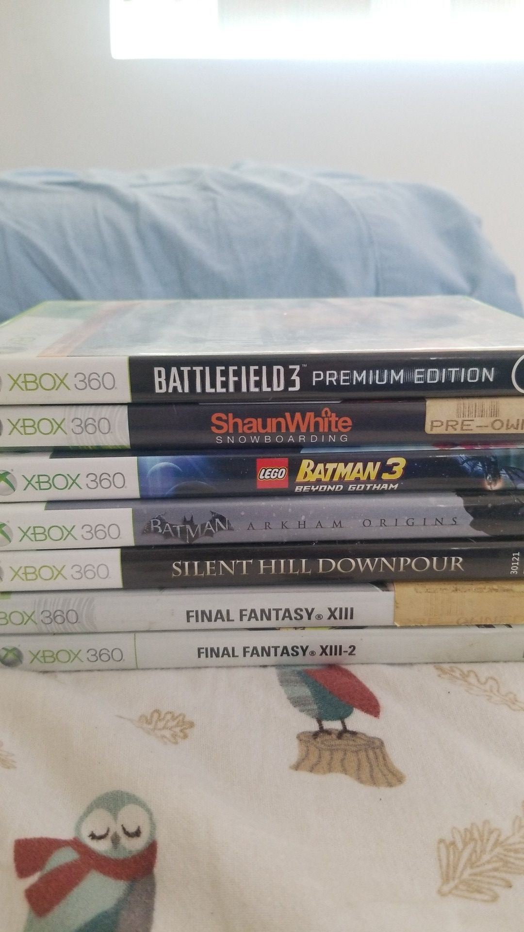 Xbox 360 Games Used