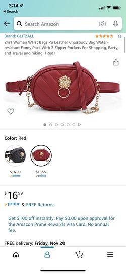 Leather Women Waist Bag Thumbnail