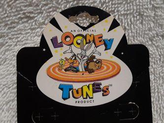 Vintage Looney tunes taz legend pin Thumbnail