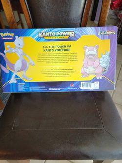 Pokemon Kanto Power Collection Box Mewtwo EX XY Evolutions TCG - Factory Sealed  Thumbnail