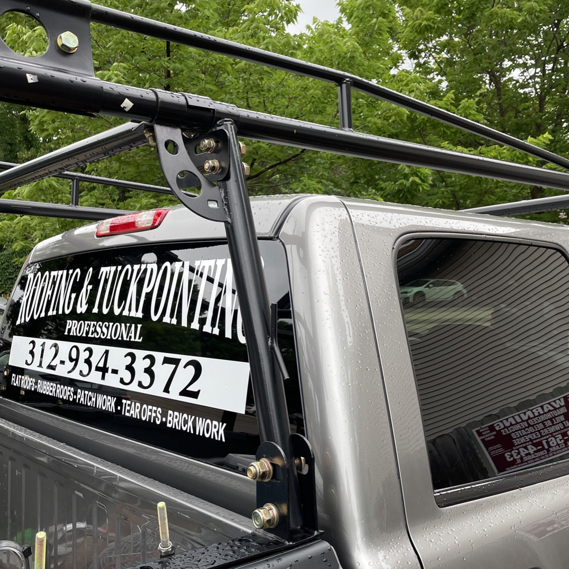 Ladder rack great condition easy to install