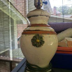 Vintage Flower Lamp  Thumbnail