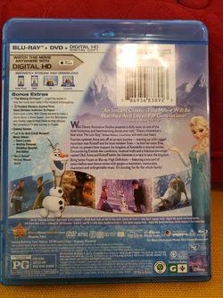 Blu-ray/DVD Disney's Frozen Thumbnail