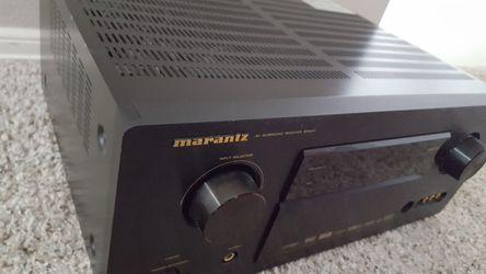 MARANTZ SR6001 *NEW* 7.1 HDMI NSV SRS AUDYSSEY DTS HDCD DOLBY PRO2 RECEIVER Thumbnail