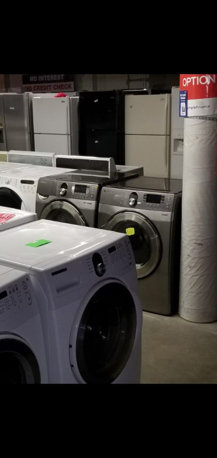 Blow out sales like new appliances 90 days free warranty store address 21639 pacific hwy S Des moines wa 98198