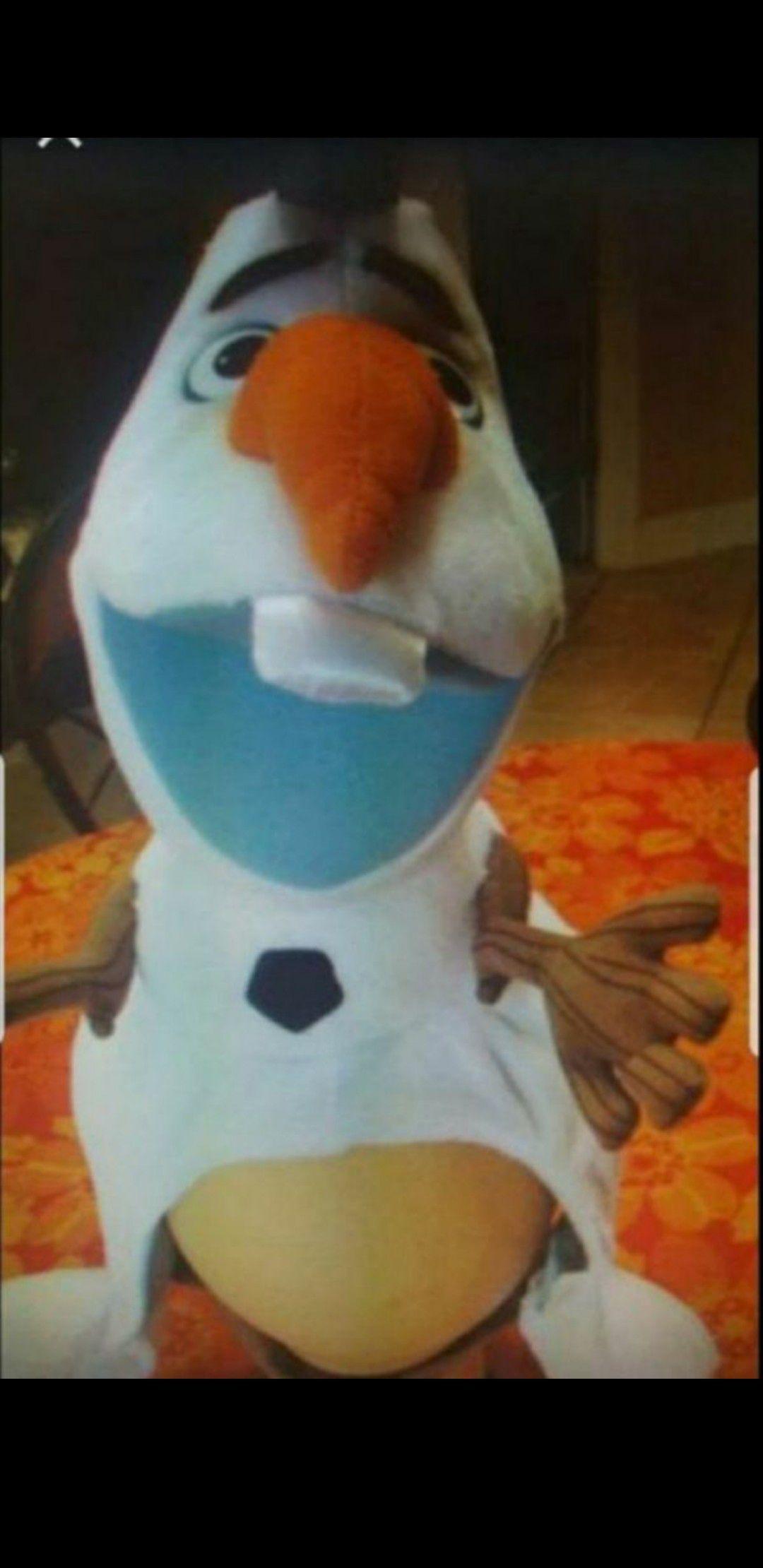 New Olaf plush hat