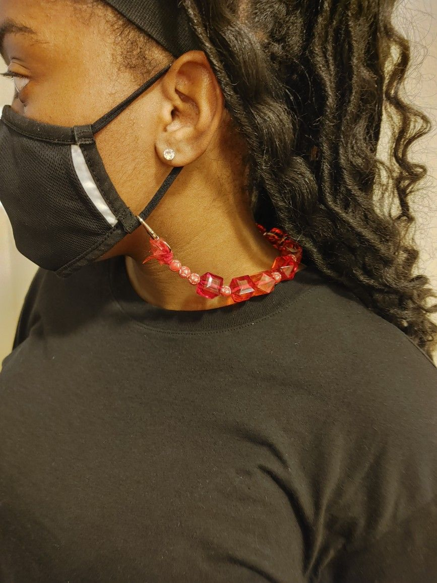 Mask Holder Necklace