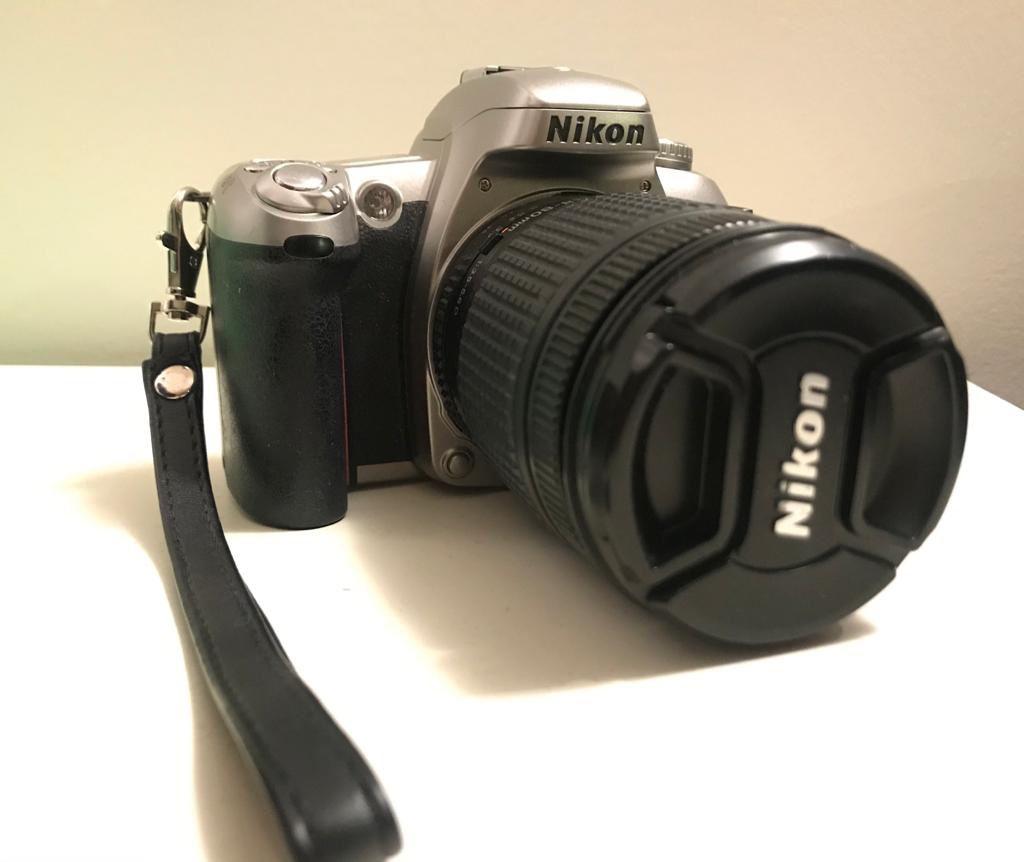 Camera with W&B film
