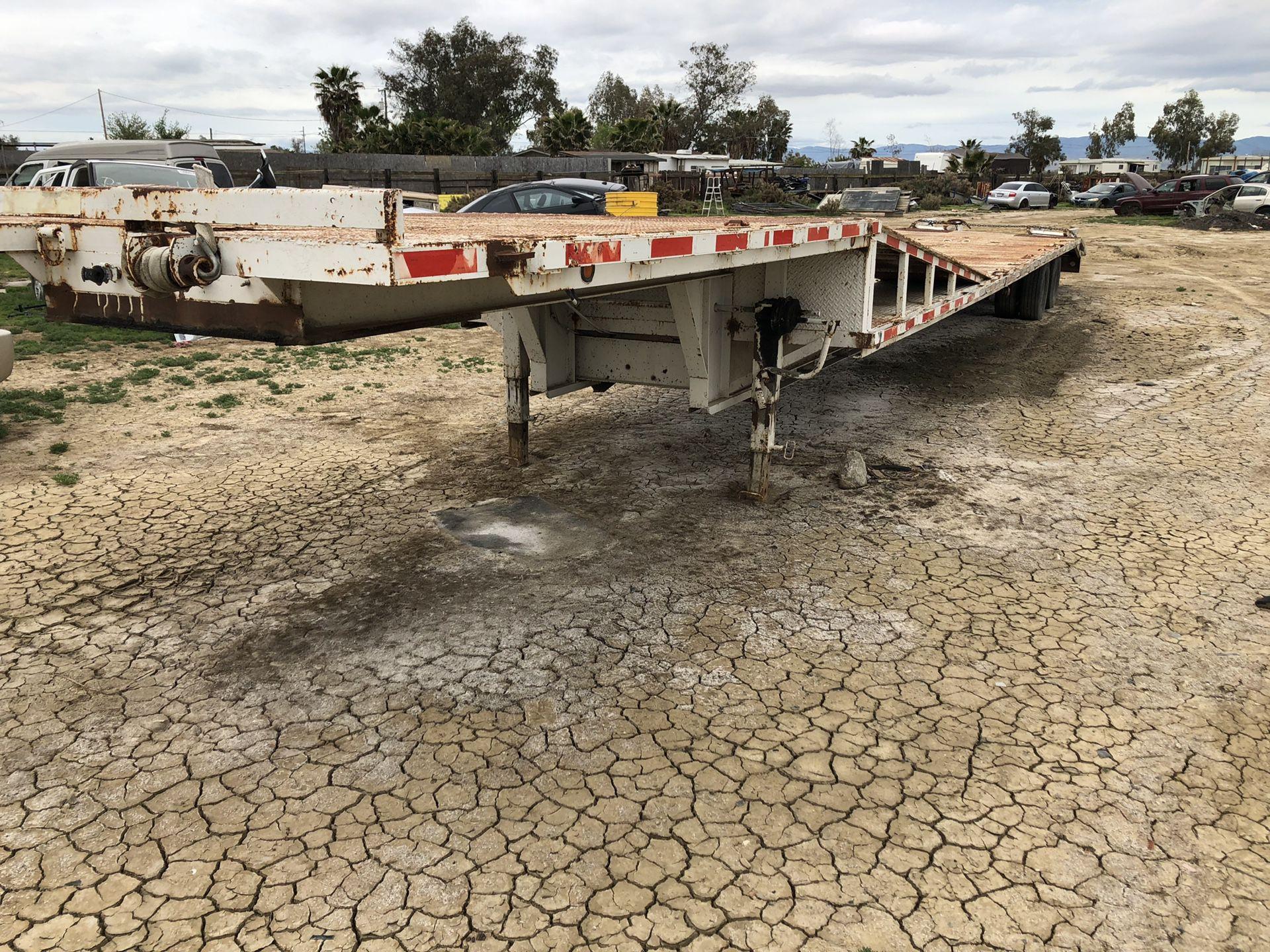 car / equipment trailer