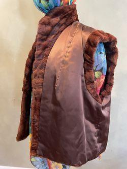 Real Fur Vest Size M/L Thumbnail