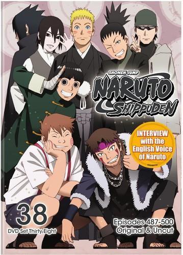 Naruto Shippuden Uncut Set 38 [DVD]