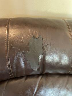 Bonded Leather Sofa  Thumbnail