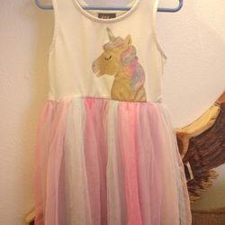 Lilt Zunie Girls Unicorn Tutu Dress  Thumbnail