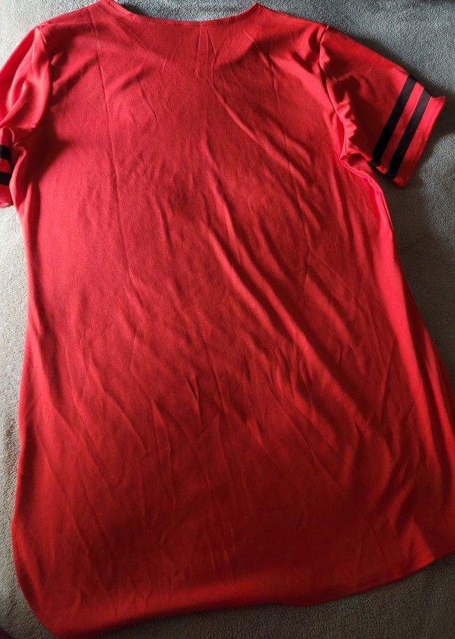 Side Split Summer Shirt Dress (NEW)