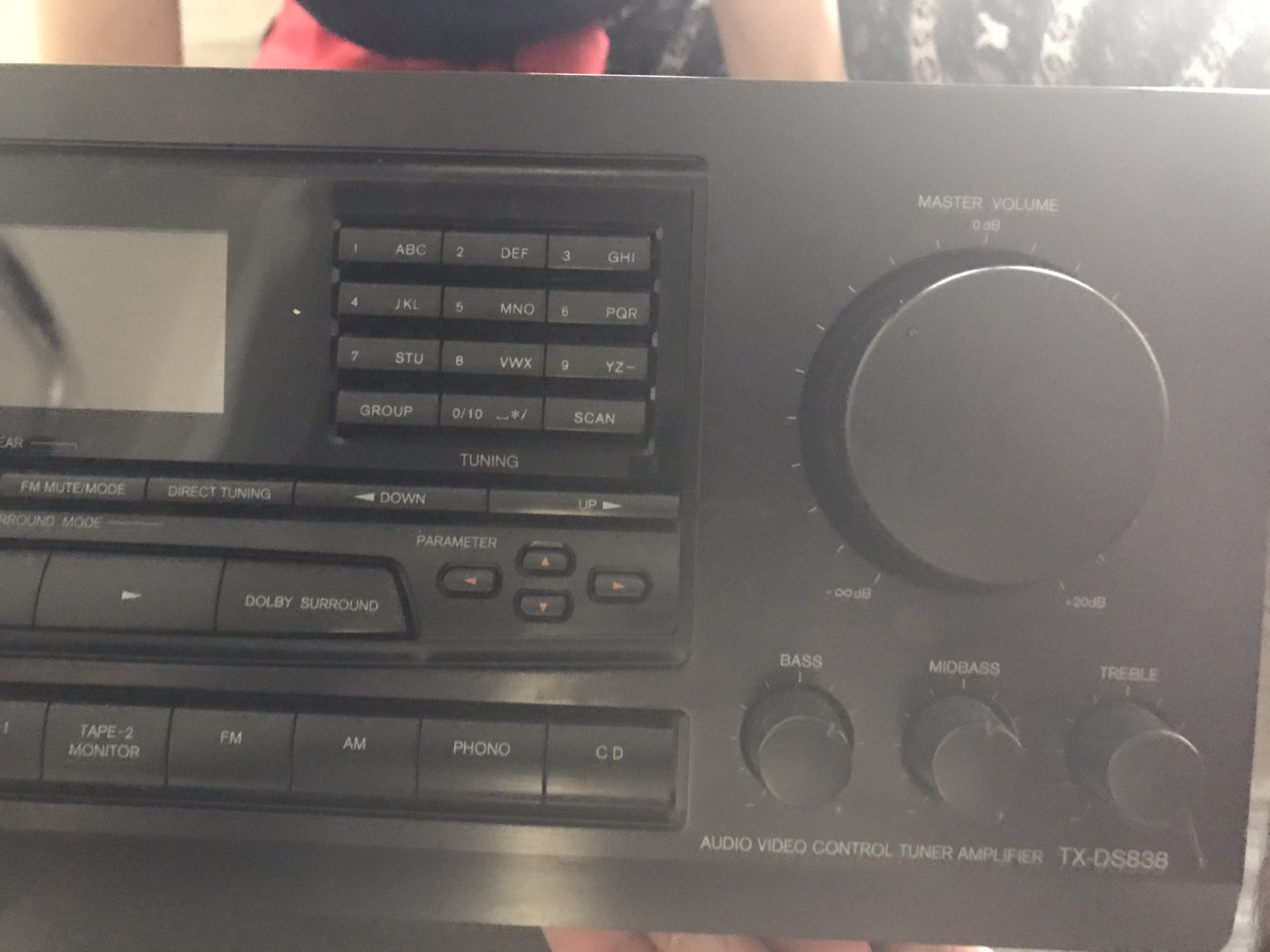 Onkyo Receiver with Bluetooth