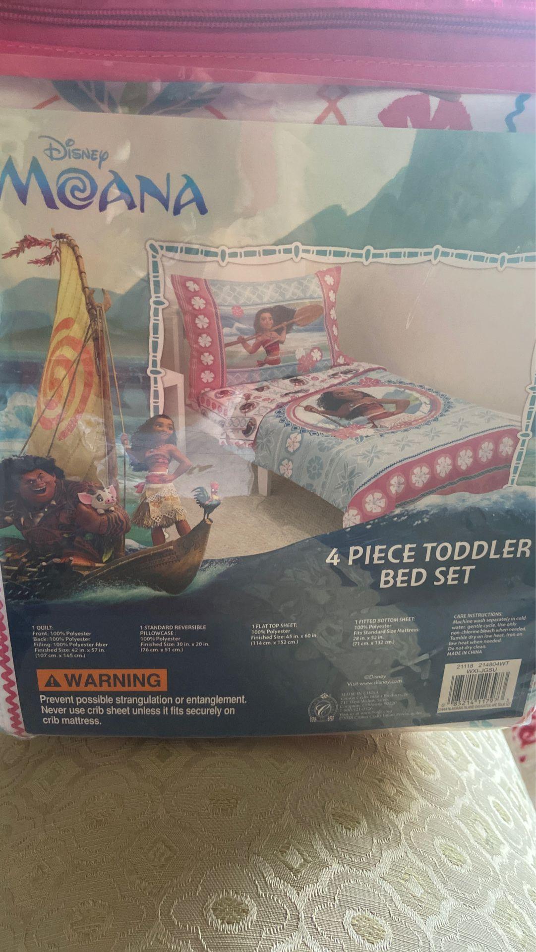 Moana toddler bedsheets