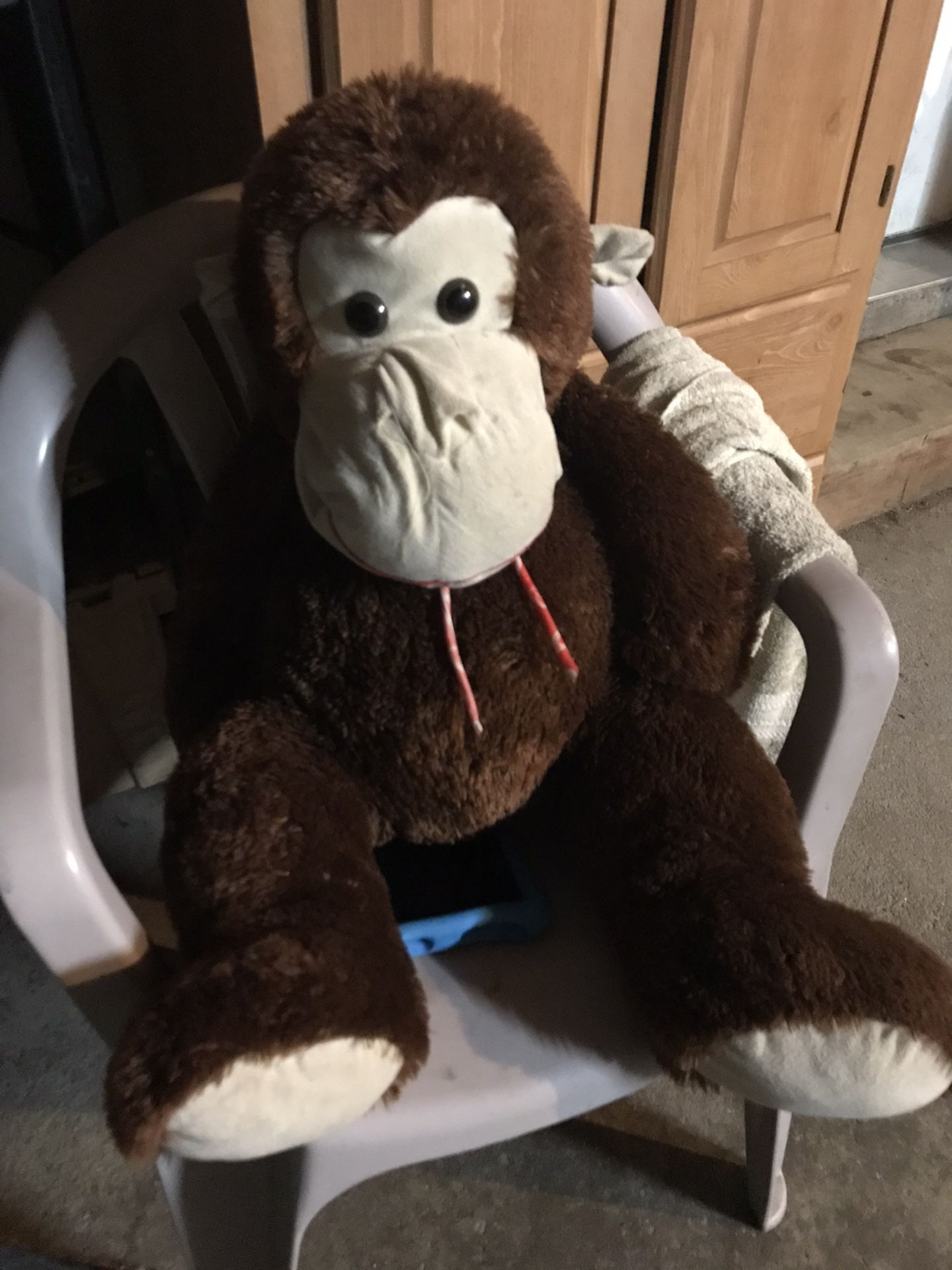Big Stuffed Monkey