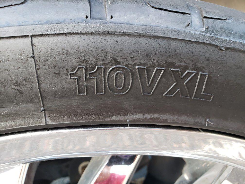 Status CHROME 24 Inch Alloy Wheels / Rims with Durun M626 Tires 295/35r24