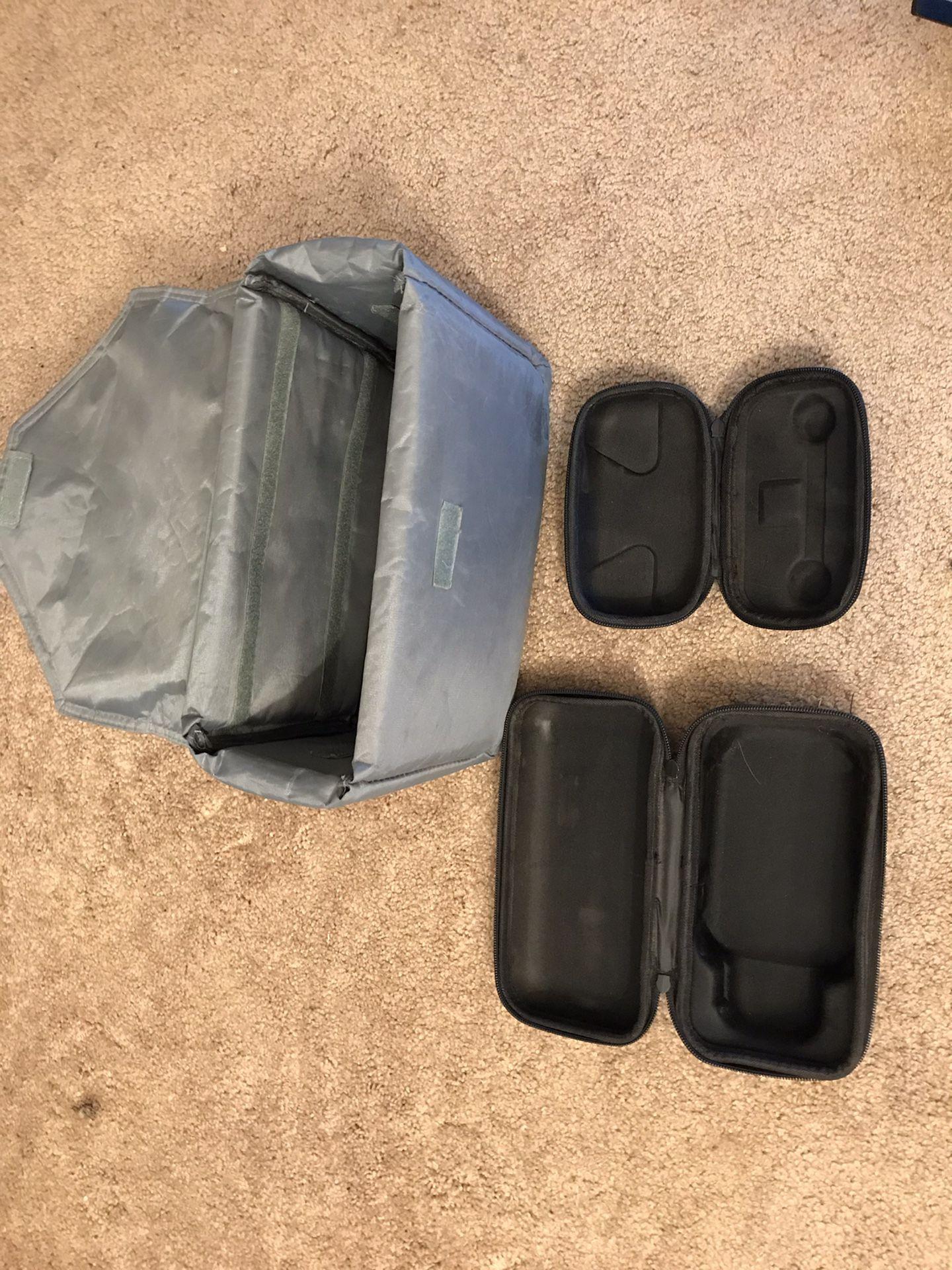 DJI Mavic pro bundle up with 3 extra batteries + more
