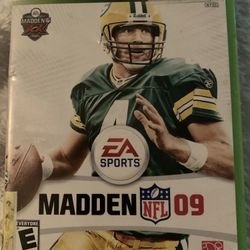 """Madden NFL 09 (Microsoft Xbox 360, 2008). Condition is """"Very Good"""". Shipped with USPS First Class. Thumbnail"""