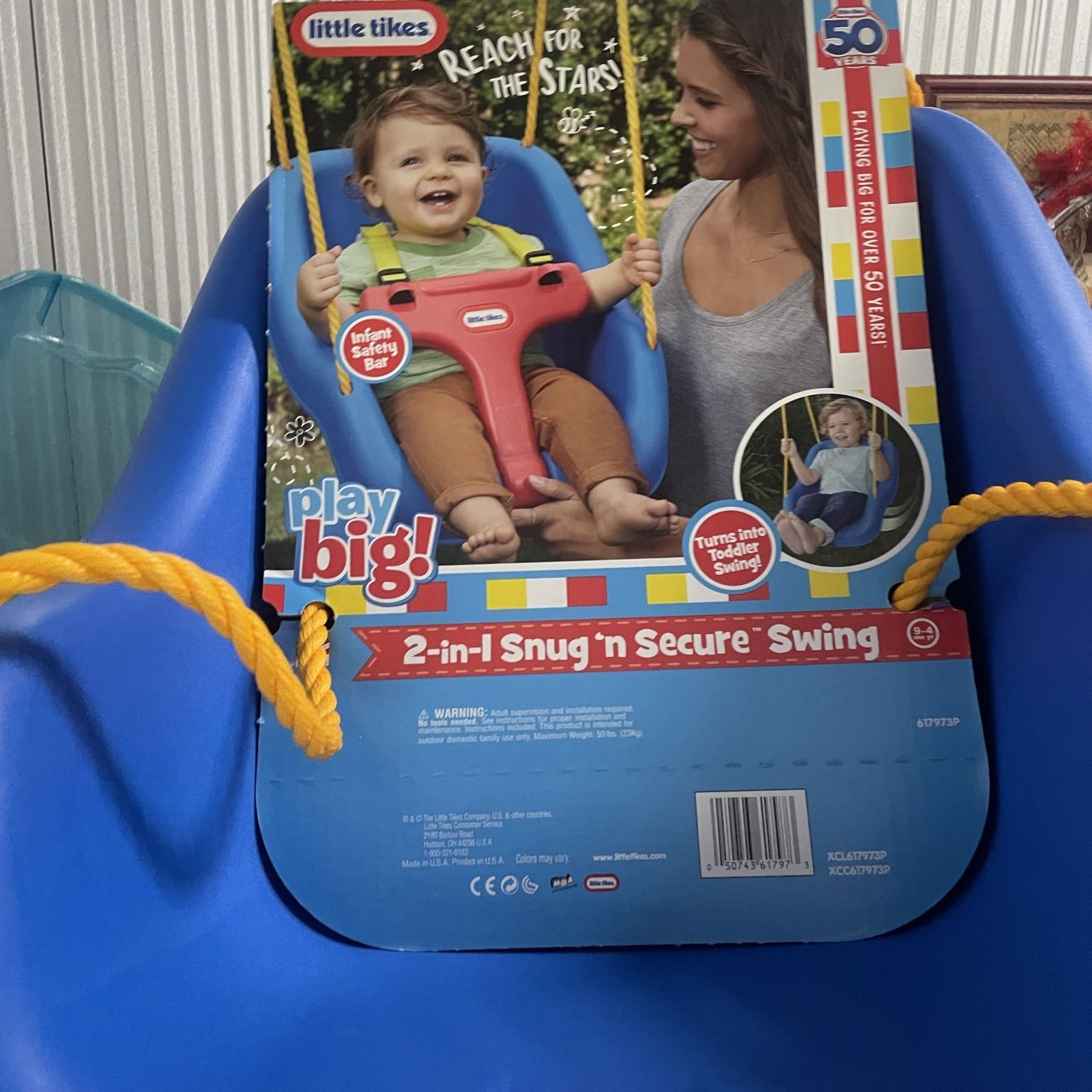Baby Swing ( 2-in-1 Snug And Secure ) Will Do 2 For $30